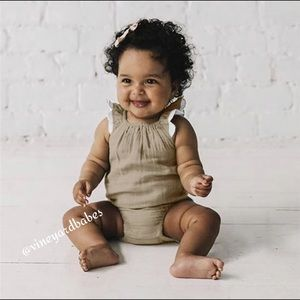"""""""Buttercup"""" Romper Knitting pattern for Reborn doll 16-22"""" or 0-3 Mth Old Baby"""